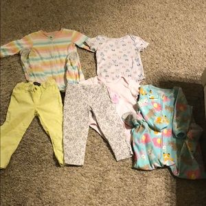 Bundle of 6 24m toddler girl clothing